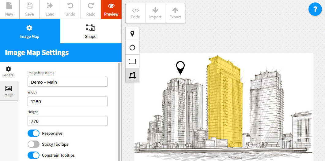 Image Map Pro - jQuery Interactive Image Map Builder