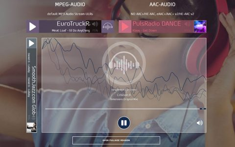 Native HTML5 Radio Player Plugin