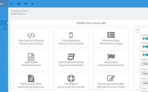 Web Slide - Bootstrap 4 Mega Menu Responsive - jQuery Scripts & Plugins